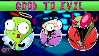 Invader Zim Characters: Good to Evil