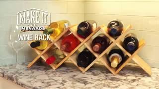 Wine Rack - Make It With Menards