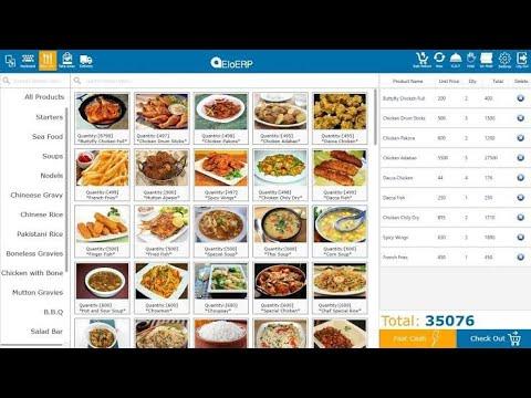 Food Reservation in restaurants management software