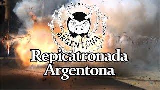 preview picture of video 'Diables d'Argentona. Repicatronada 2014'