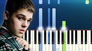 AJ Mitchell   All My Friends (Piano Tutorial)