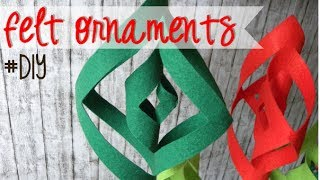 XMAS SERIES: FELT ORNAMENT - ADORNO DE FIELTRO