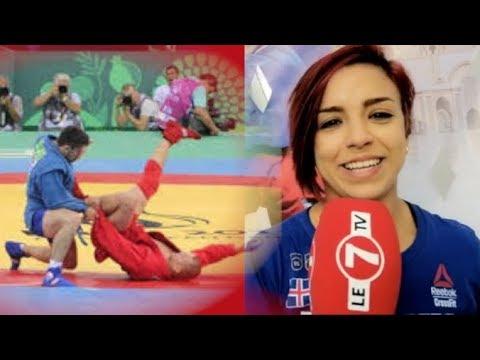 العرب اليوم - شاهد: بطلة مغربية تتطلع لتكون أول امرأة تمثل المملكة في رياضة السامبو في أميركا