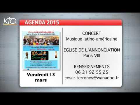 Agenda du 23 février 2015