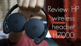 HP wireless headset H7000 - Review