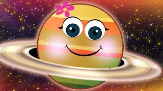 Fun Planets There Are Eight !! Solar System Planet Song | Nursery Rhymes for Kids by HooplaKidz