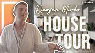 DAMJAN MURKO: Zaradi GROŽENJ sem se preselil!😫😳   HOUSE TOUR