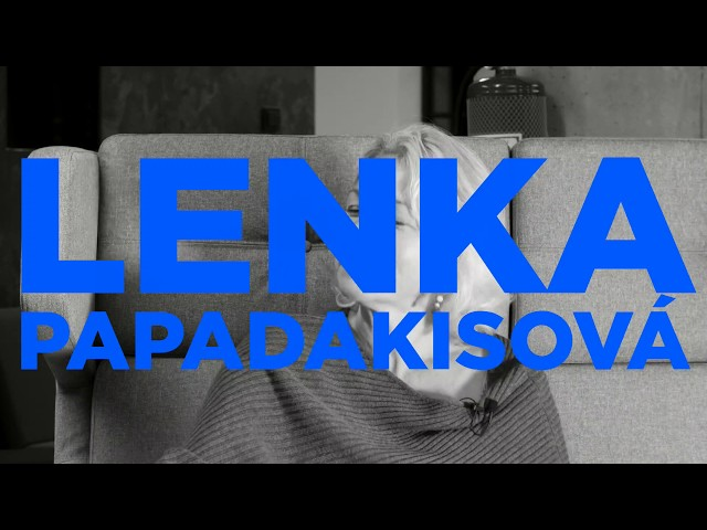 CULT TALKS: Lenka Papadakisová