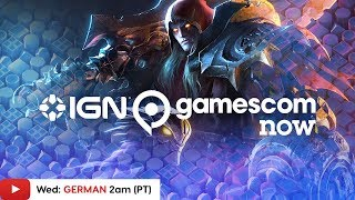 Gamescom 2019: Darksiders Genesis, Grid & More! - IGN Live | Day 2 (GERMAN)