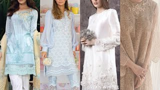 Outstanding Womens Lace Dresses/Net Shirts Designing Ideas