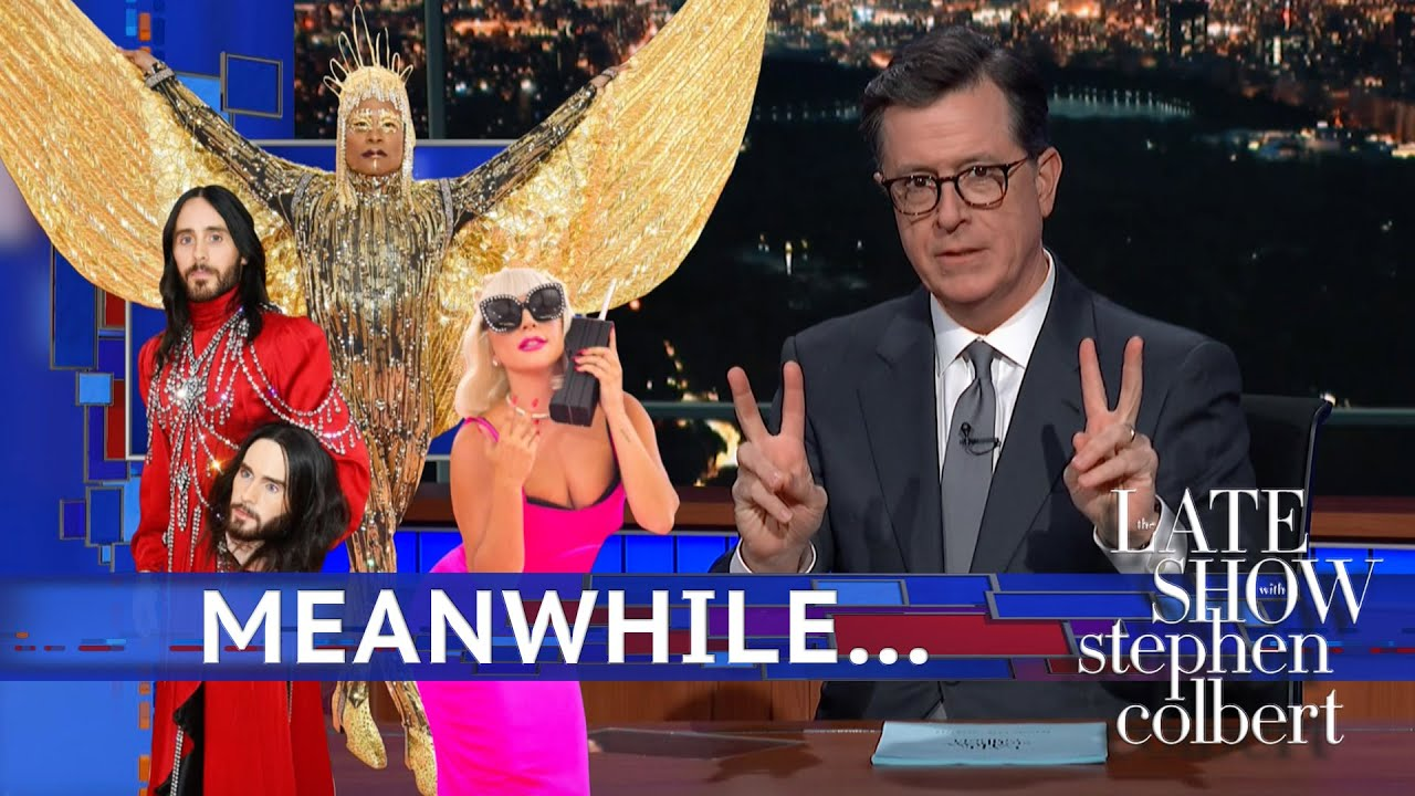 Meanwhile... An 'Intentionally Over-The-Top' Met Gala thumbnail