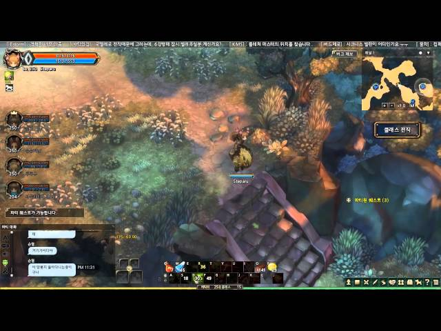 Tree of Savior Online 2nd CBT Explore and Boss
