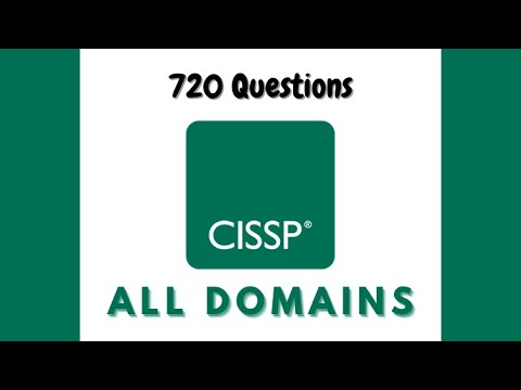 CISSP Practice Tests | ALL Domains | 720 Questions with full ...