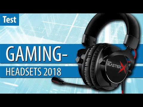 Die besten GAMING-HEADSETS 2018 im Test | #Gaming-PC