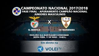 SL Benfica x CD Marienses - Fase Final Juniores Masculinos