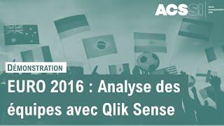 Découvrez l'application Qlik Sense pour le Championnat d'Europe de Football 2016