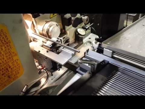 Royal Master centerless grinder infeed grinding an automotive application