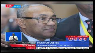 Ahmad Ahmad is the new CAF president after beating Issa Hayatou