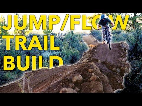 Building a JUMP/FLOW Trail in their BACKYARD! | MTB Trail Building in California