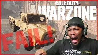 The WORST Way To Go! Another WARZONE Fail Comp!   The Games You Don't See WarZone Ep.3