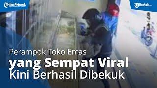 Sempat Viral Video Aksi Perampokan Toko Emas Tony Mustika Blora, Kini 3 Pelakuk Berhasil Dibekuk