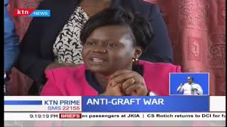 Women MPs rally colleagues in the fight against graft