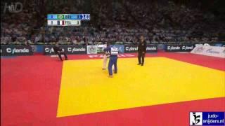 Judo 2011 World Championships Teams Paris: Dragin (FRA) - Cunha (BRA) [-66kg]