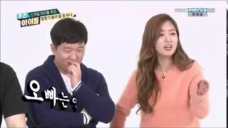Bomi (Apink) singing to SNSD JeTiHyun Oppa Nappa & Naeng Myun - SNSD Jessica & Park Myung Soo