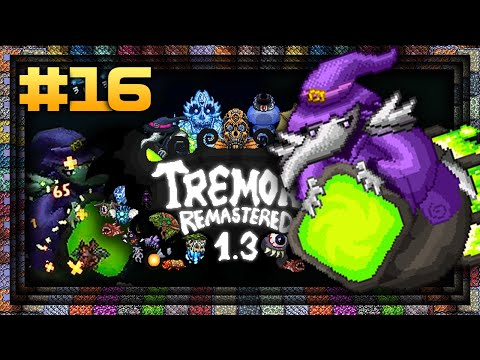 NEW ALCHEMASTER BOSS! - TERRARIA 1 3 5 - Tremor Remastered