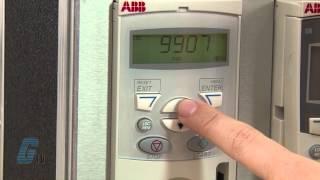 ABB ACS-150 AC Drive Basic Start Up & Operation Demo