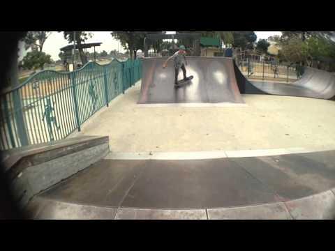 Roosevelt skate park sesh