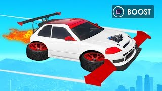 MODDING The UGLIEST FLYING Car! (GTA 5 DLC)