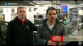 preview picture of video 'Portugueses Pelo Mundo - Belfast, Irlanda do Norte'
