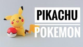 Cómo Hacer A Pikachu De Pokemon | Porcelana Fría | Mis Mejores Ideas