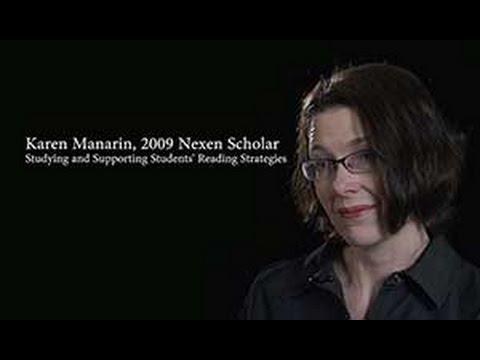 Karen Manarin, 2009 Nexen Scholar: Supporting Students' Reading