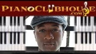 """♫ How to play """"THE MAN"""" by Aloe Blacc (piano tutorial lesson)"""