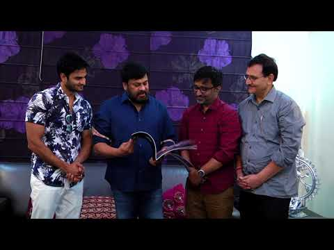Sammohanam Book Launch by Chiranjeevi