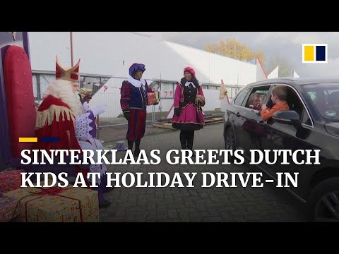 Reportage over Sinterklaas Drive Thru op South China Morning Post | JB Productions