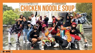 [KPOP IN PUBLIC CHALLENGE NYC] J Hope   Chicken Noodle Soup (feat. Becky G) MV Dance Cover