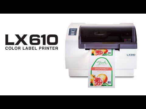 Primera LX610 Color Label Printer/Cutter