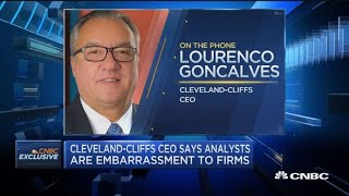 Cleveland-Cliffs CEO: I wasn't bashing analysts, had to call out bad math