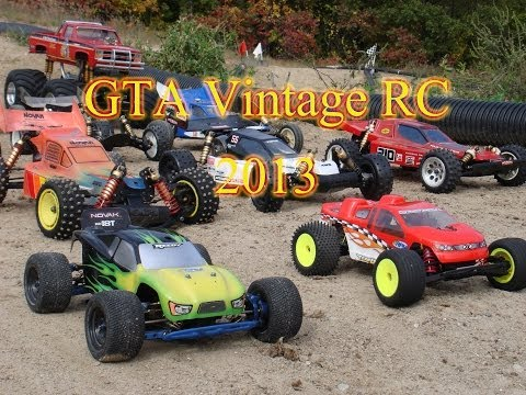 Ontario Vintage RC Cars. GTA Vintage RC At Thunder Ridge RC Track.