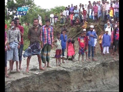 মেঘনা ভাঙ্গনে  অস্থিত্ব সংকটে পড়েছে  নোয়াখালী উড়ির চর | ETV News
