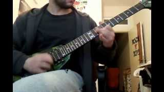 Exodus - Shroud of Urine (guitar solo cover)