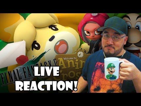 Nintendo Direct - 9/13/18: LIVE REACTION! (видео)