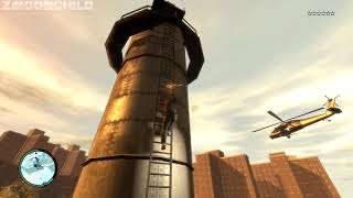 GTA IV - Sniper Rifle Survival Challenge - at the beginning of the game