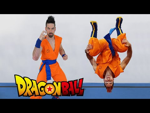 Dragon Ball Super Training In Real Life (Flips, Parkour with Weights)