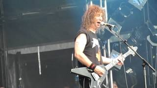 Anvil - 666 at Bloodstock, England, 12th August 2012