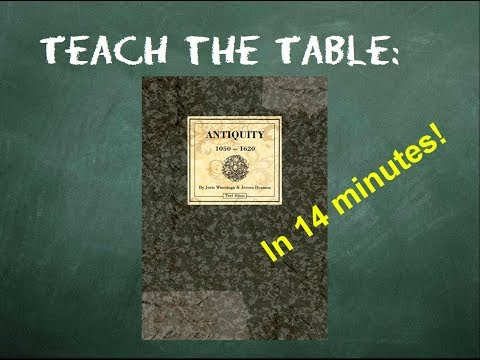 How to play Antiquity - Teach The Table