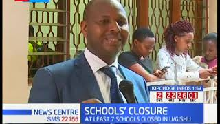 Over 150 schools closed countrywide
